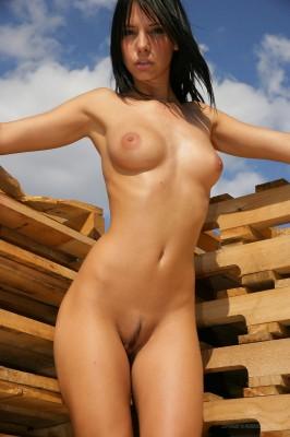 ładna cipeczka i piękne piersi