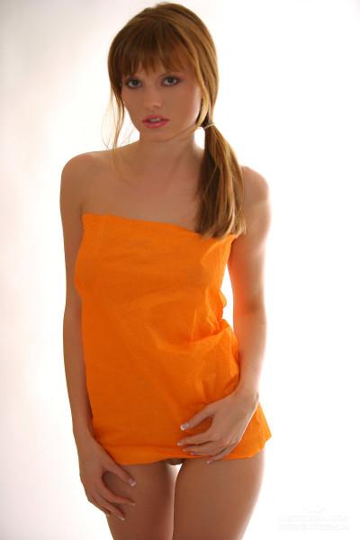 mała pomarańczowa
