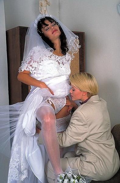 lesbijki na weselu